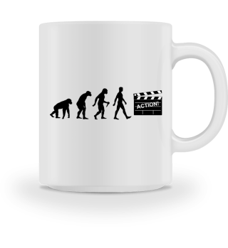 Evolution Of Humans - Clapperboard I