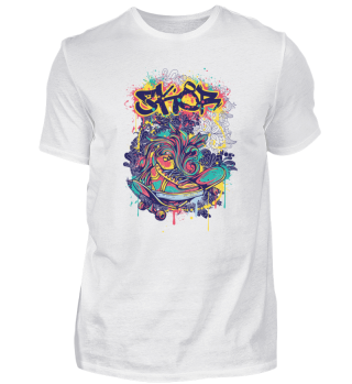 Paintful coloured Skor Artist Design