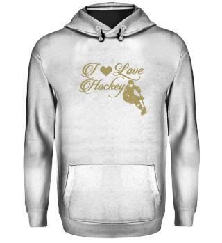 ☛ I LOVE HOCKEY #8G