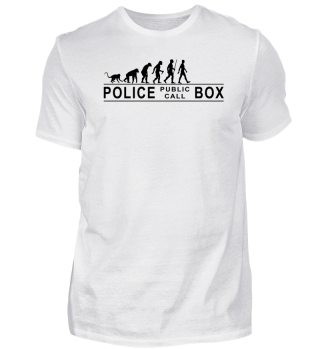 EVOLUTION Of Humans - Police Box I