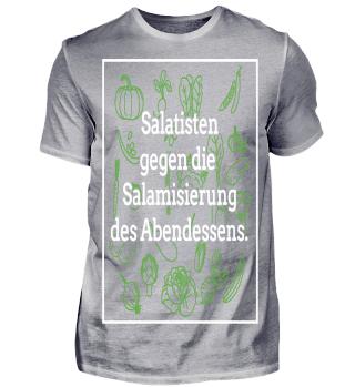Salatisten gegen die Salamisierung
