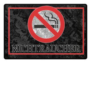 Nichtraucher Verbotszeichen I