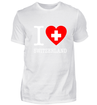 I love Switzerland - Schweiz / Geschenk