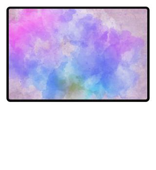 Farbvolle Fußmatte