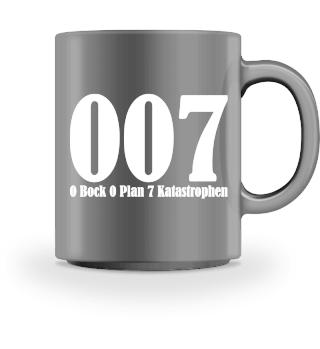 0 bock 0 plan 7 katastrophen - weiss