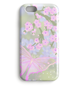 ★ Cherry Blossom Branch Butterflies 1b
