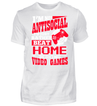 Gamer im not Antisocial