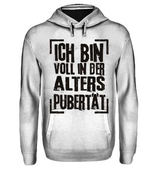 ALTERSPUBERTAET - schwarz