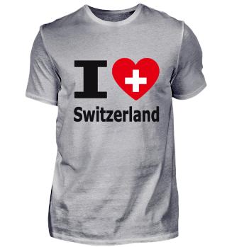 I love Switzerland / Ich liebe Schweiz
