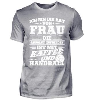 Lustiges Handball Shirt Ich Bin Die Art