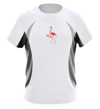 Flamingo Starfish Vacation Summer Gift