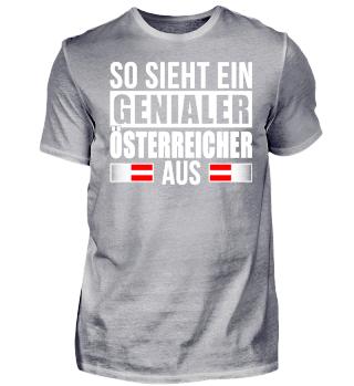 Genialer Österreicher Shirt
