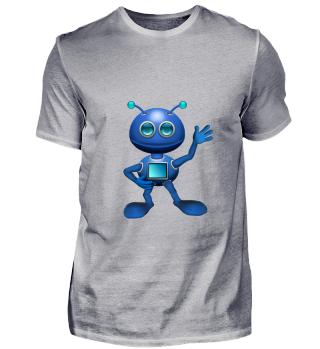 Alienshirt für Kinder