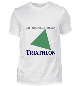 Triathlon Triathlet ich trainiere eisern