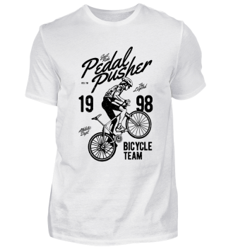 Pedal Pusher - Bicycle Team