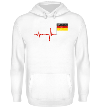 Heartbeat Germany flag gift