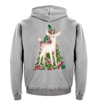 ☛ MERRY CHRISTMAS · DEER #3A