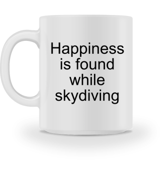 Happiness = Skydiving - Gift