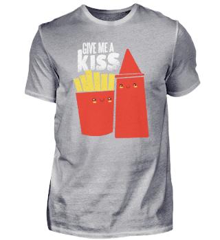 Ketchup And Fries Kiss