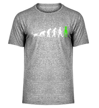 Evolution Of Humans - Green Alien II