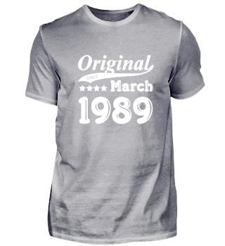 Original Since March 1989