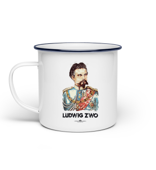Ludwig Zwo Emailletasse