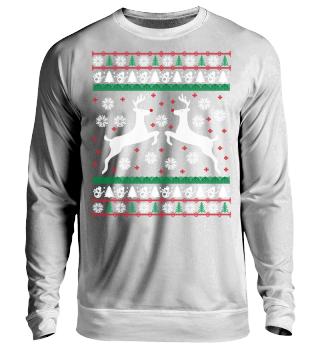 Rentier Ugly Christmas Sweater Geschenk