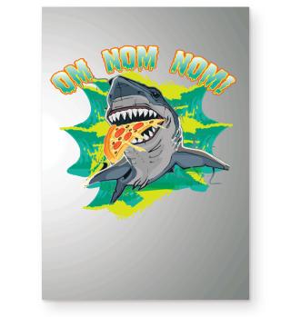 Weißer Hai White Shark Pizza
