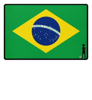 fussballkind - Fussmatte Brasilien