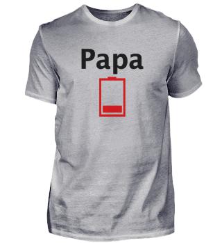 Papa, Dad, Family - Akku leer