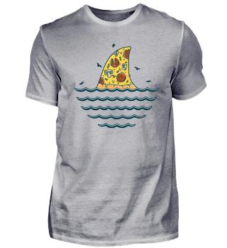 GREAT WHITE PIZZA SHARK