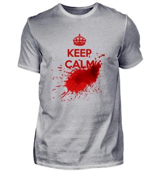 Keep Calm Halloween Bloody Horror