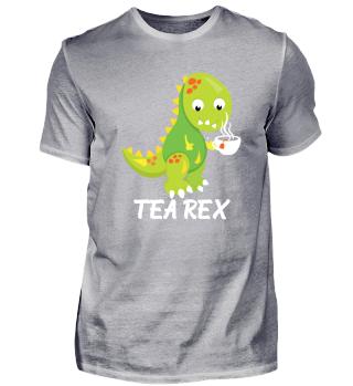 Tea Rex für Tee und Dino Fans