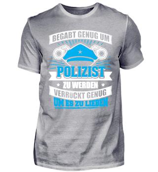 Limitiert Begabt Polizist Polizei