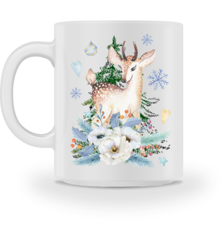 ♥ MERRY CHRISTMAS · DEER #7FT
