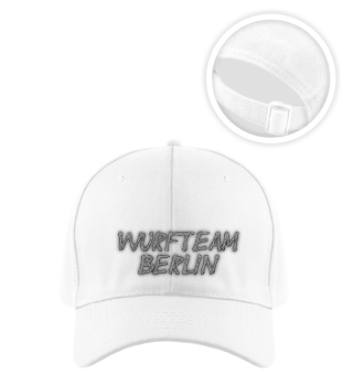 Basecap - Wurfteam Berlin