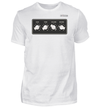 Herrn T-Shirt Basic - Voll aufgedreht !