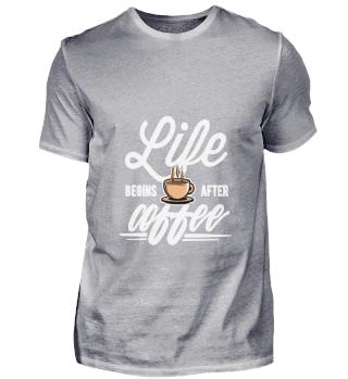 D001-0735A Kaffee Bohne Coffee - Life be