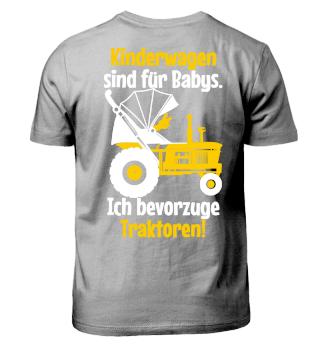 Ich bevorzuge Traktoren - Kinder