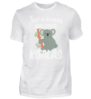 just a human who loves koalas