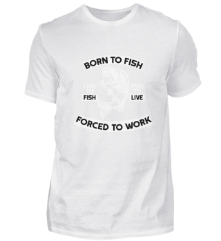 Fishing Fisher - Forced to work
