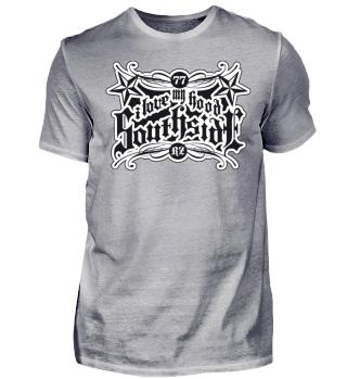 Herren Kurzarm T-Shirt I Love My Hood BW Ramirez