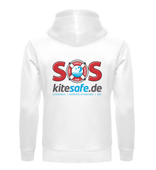kitesafe.de SaveOurSchool Hoody grey