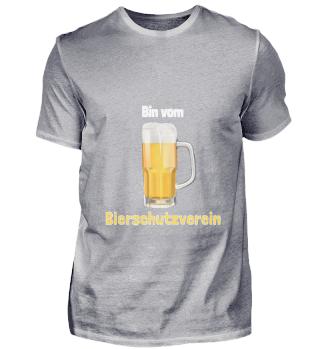 D010-0354A Bier - Ich bin vom Bierschutz