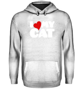 Ich liebe meine Katze |Katzenliebhaber