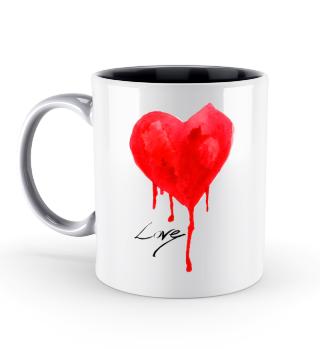 Love Herz Valentinstag Geschenk idee