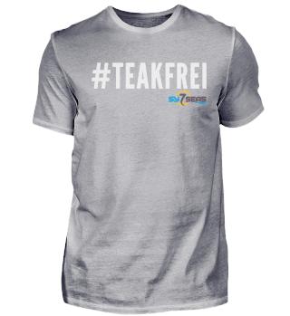 #Teakfrei weiß - Shirts & Pullover