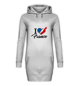 D001-0089B I Love France / Frankreich