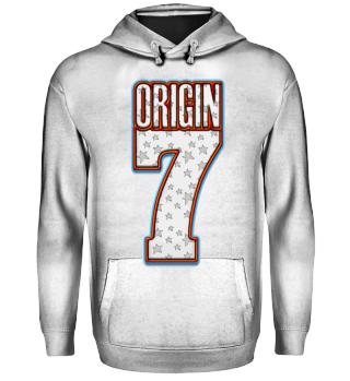 Herren Hoodie Sweatshirt Origin 7 Ramirez