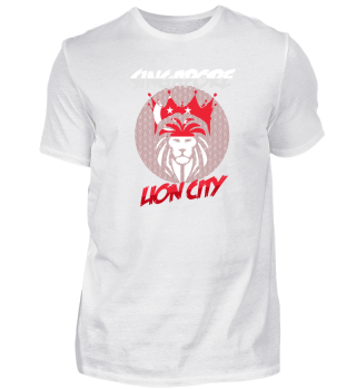 Wild Singapore Lion Shirt Design